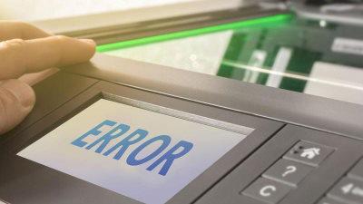 Errori più comuni stampanti laser Epson: 0xf1, E-01, 0x9a