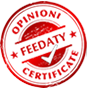 Certificati da Feedaty