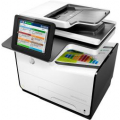 Stampante multifunzione ink-jet HP PageWide Enterprise Color 586f