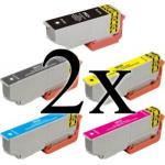 10 cartucce compatibili 33xl serie arancia Epson