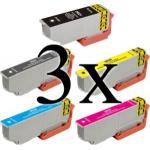 15 Cartucce compatibili 33XL Epson modello Arancia