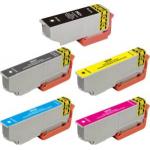 5 cartucce compatibili serie Arancia Epson 33xl