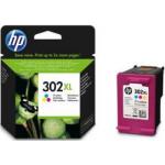Cartuccia HP 302XL Originale Inchiostro Colori