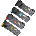 4 Toner Compatibili per stampanti Xerox Phaser 6140 V_N - 6140 V_DN (Nero+Ciano+Magenta+Giallo)