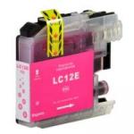 Cartuccia Compatibile con Brother LC12EM Magenta