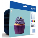 Cartucce LC123VALBP Multipack Originale Brother
