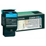 Toner ciano C540A1CG Originale Lexmark