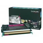 Toner magenta C734A1MG Originale Lexmark