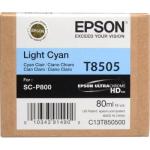T8505 Cartuccia ciano chiaro C13T850500 Originale Epson