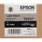 T8507 Cartuccia nero chiaro C13T850700 Originale Epson