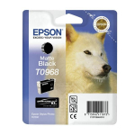 Cartuccia nero opaco C13T09684010 Originale Epson