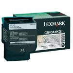 Toner nero C540A1KG Originale Lexmark