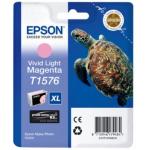 Cartuccia magenta chiaro vivido C13T15764010 Originale Epson