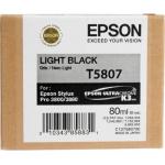 T5807 Cartuccia nero chiaro C13T580700 Originale Epson