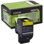 702HY Toner giallo 70C2HY0 Originale Lexmark