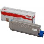 Oki 44059167 Toner Originale Ciano