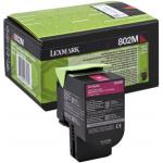 Toner magenta 80C20M0 Originale Lexmark