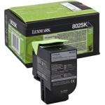 Toner nero 80C2SK0 Originale Lexmark