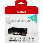 Serbatoi inchiostro 5 colori 4868B018 Originale Canon