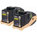 Toner giallo C13S050606 Originale Epson
