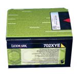 Toner giallo 70C2XYE Originale Lexmark