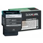 Toner nero C540H1KG Originale Lexmark