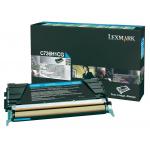 Toner ciano C736H1CG Originale Lexmark