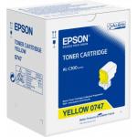 Toner giallo C13S050747 Originale Epson