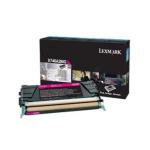 Toner magenta X746A3MG Originale Lexmark