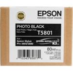 T5801 Cartuccia nero foto C13T580100 Originale Epson