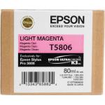 T5806 Cartuccia magenta chiaro C13T580600 Originale Epson