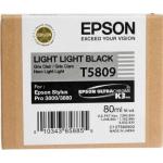 T5809 Cartuccia nero chiaro chiaro C13T580900 Originale Epson