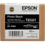 T8501 Cartuccia nero foto C13T850100 Originale Epson