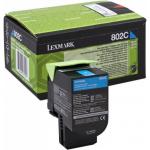 Toner ciano 80C20C0 Originale Lexmark