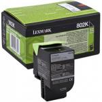 Toner nero 80C20K0 Originale Lexmark