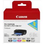 Cartucce 6 colori 6496B005 Originale Canon