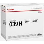 Toner nero 0288C001 Originale Canon 039H