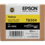 T8504 Cartuccia giallo C13T850400 Originale Epson