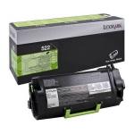 Toner nero 52D2000 Originale Lexmark 522
