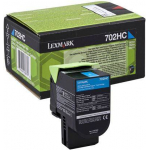 702HC Toner ciano 70C2HC0 Originale Lexmark