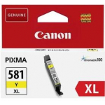 CLI-581XLM CARTUCCIA INCHIOSTRO YELLOW PER PIXMA TS 6150/8150/9150 TR 8550 (8,3ml)