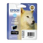 Cartuccia ciano chiaro C13T09654010 Originale Epson