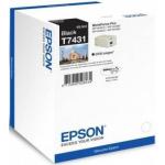 Cartuccia Originale Epson C13T74314010 T7431 XL nero