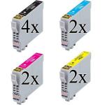 10 Cartucce COMPATIBILI Epson 16XL T1631 T1632 T1633 T1634 Penna e Cruciverba