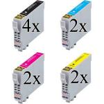10 Cartucce COMPATIBILI Epson 29XL (T2991 T2992 T2993 T2994) serie Fragola