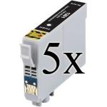 5 Cartucce COMPATIBILI Epson T1291 Nero