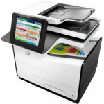 Stampante multifunzione ink-jet HP PageWide Enterprise Color 586f