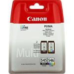 Multipack Cartucce Canon ORIGINALI (1x PG-545 Nero + 1x CL-546 colori)