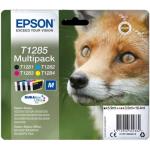 Multipack T1285 Originale Epson Volpe Nero/Magenta/Cyano/Giallo
