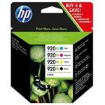 Multipack C2N92AE Cartucce Originali HP serie 920XL ad Alta Capacità